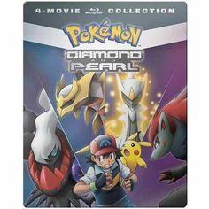 Pokemon Diamond & Pearl (4-Movie Set) Blu-ray Steelbook