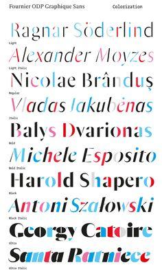 Jean-Baptiste Levée Typographie / Fournier Orchestre de Paris