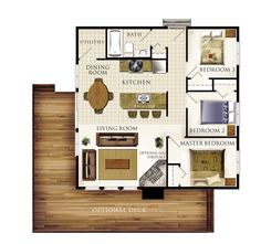 26 best house plans images on pinterest blueprints for homes beaver homes and cottages fairmont 30x30 3br 1ba malvernweather Gallery