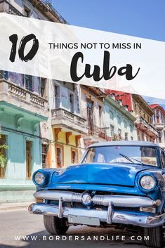 Wondering what are the best things to do in Cuba? Read This! www.bordersandlife.com ******************************************* Cuba| Things to do in Cuba | What to do in Cuba | Where To Stay in Cuba | Cuba Travel Guide | Havana Cuba | Trinidad Cuba #cuba #havana #trinidad