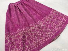 Antigüedades: Antiguo refajo de lana, con cenefa - Foto 1 - 187594432 Lana, Regional, Skirts, Fashion, Shandy, Suits, Women, Pictures, Moda