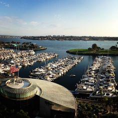 Gorgeous view of the San Diego bay! Photo by Sam Lanzino #view