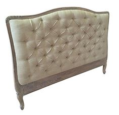 French Style Shabby Chic Upholstered Headboard King Size…