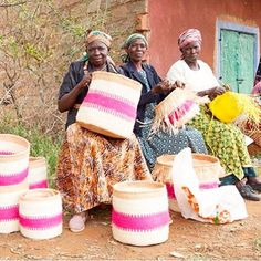 To celebrate #InternationalWomensDay we wanted to share some of the amazing work the ladies at @TheBasketRoom are doing for #PledgeForParity.  Co-founded by Camilla and Holly The Basket Room works closely with small farming communities in Africa who in times of drought turn to the art of weaving as a form of sustainable income. An age-old tradition the skills are preserved and passed down from grandmother to granddaughter.  Every basket is handmade from the harvesting of the grass to rolling…