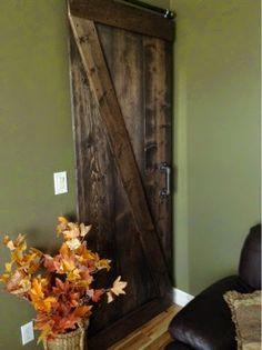 Home Frosting: My Barn Door