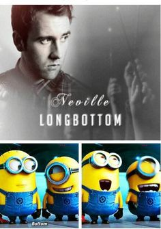 Minions and Harry Potter.... :D