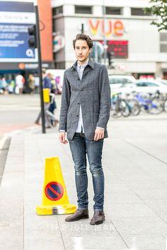 Men's Street Style - Smart Casual