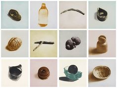12 Objects, 12 Etchings, by Rachel Whiteread, published by Paragon Press Rachel Whiteread, Bad Art, Object Drawing, Draw On Photos, English Artists, Art Hoe, Aesthetic Collage, Everyday Objects, Installation Art