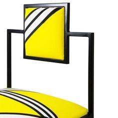 Other Capri Tria Giallo Iron Chair For Sale