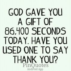 Thank Allah Every Day