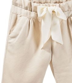 TROUSERS WITH BOW AT THE WAIST - View All - Baby girl - Kids - ZARA United States