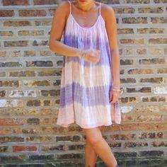 ombre swing dress