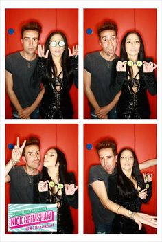 Stole this from BBC Radio 1 Breakfast's Twitter. Grimmy with Lady Gaga! :)