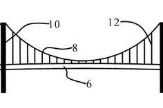 Simple Suspension Bridge Model : 8 Steps - Instructables Bridge Model, Suspension Bridge, Simple, School Ideas, Engineering, Military, Kit, Technology, Military Man