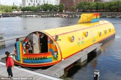 Yellow Submarine Hotel Pays Homage To The Beatles
