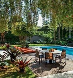 Nice backyard