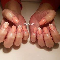 #nails #nailart #gel #gelnails #Polish #stamping #handpainted #French