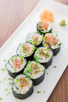 Sushi Recipes: DIY Sushi: How To Make Sushi with Visual Guide