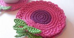 Crochet Art, Crochet Home, Love Crochet, Crochet Motif, Crochet Doilies, Easy Crochet, Crochet Flowers, Crochet Applique Patterns Free, Crochet Potholders