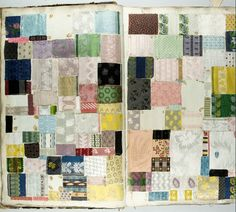 French Textiles Sample Book 1860 Metropolitan Museum