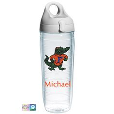 University of Florida Gator Personalized Tervis Water Bottle