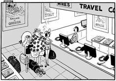 25 June 2013 - A man going on holiday with two mistresses, citing that his wife is watching Wimbledon for the next two weeks. 25 June, Man Go, Going On Holiday, Brain Teasers, Wimbledon, Adult Humor, Daily Mail, Cartoons, Humor