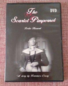 The Scarlet Pimpernel DVD - Black & White Full Screen Leslie Howard (Region…