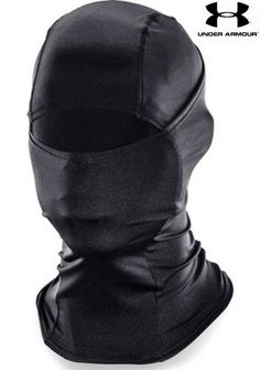 The Under Armour Tactical HeatGear Hood is a balaclava-style face mask that offers full head and facial protection, extending below the neckline for extra coverage. Tactical Wear, Tactical Clothing, Tactical Armor, Tactical Gloves, Tactical Pants, Men's Clothing, Ninja Gear, Mode Sombre, Tactical Equipment