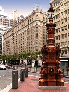 National Register #75000475: Lotta Crabtree Fountain