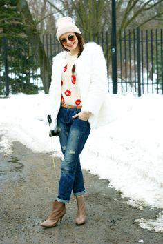 Boyfriend jeans from La Redoute by Modna Komoda
