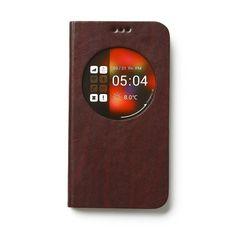 Trendy Galaxy S5 Z-View Toscane Diary Avoc Wijn Rood. Bekijk deze en andere telefoonhoesjes op http://telefoonhoesjes-shop.nl