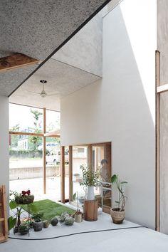 Home Interior Design, Interior Architecture, Interior And Exterior, Minimal Home, Architect Design, Facades, Indoor Garden, Home Projects, Outdoor Spaces