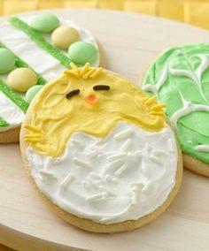 Biscotti Pasqua - uovo con pulcino