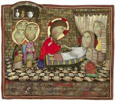 Воскрешение дочери Иаира, Давид Попиашвили