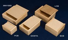 Gift Boxes... 6 for 7-9 bucks... can stain or leave natural... shredding filler…