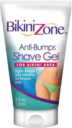 Bikini Zone Anti-Bumps shaving gel for the bikini area # Skincare . - Women Style World Permanent Facial Hair Removal, Back Hair Removal, Remove Unwanted Facial Hair, Unwanted Hair, Vitamin A, Best Hair Removal Products, Hair Removal Methods, Anti Aging, Shaving Tips