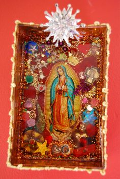 'Our Lady of Guadalupe' Religious Shrine