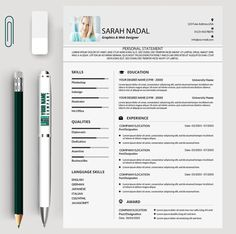Student Resume Template The Andrea  Resume Templates