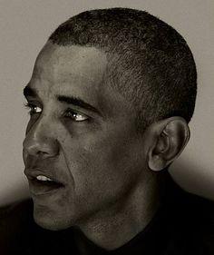 Barack Obama © Nadav Kander