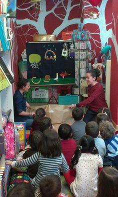 Cuentacuentos en librería Musarañas con motivo del Día Internacional del Libro Infantil y Juvenil (Salamanca) 4/4/2014