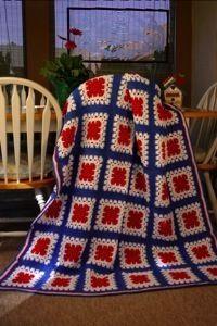 American Granny Afghan | AllFreeCrochetAfghanPatterns.com