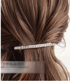 Brief Fashion Rhinestone Hair Grip - BuyTrends.com