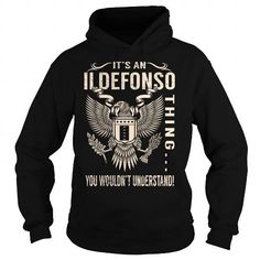 Cool Its an ILDEFONSO Thing You Wouldnt Understand - Last Name, Surname T-Shirt (Eagle) T shirts