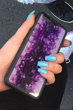 Wildflower Amethyst iPhone 6/6S Case
