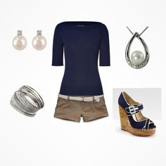 Summer casual, created by chrissy-currence