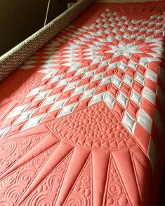 A little quilting while the Chex mix cools and the cream cheese softens! by carmen Lone Star Quilt Pattern, Star Quilt Patterns, Star Quilts, Machine Quilting Patterns, Longarm Quilting, Free Motion Quilting, Quilting Ideas, Modern Quilting, Pillos