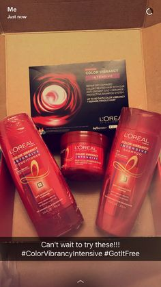 Loving these new Color Vibrancy products from L'Oréal! #ColorVibrancyIntensive #ad #influenster