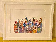 Frame, Home Decor, Watercolour, Finding Nemo, Picture Frame, Decoration Home, Room Decor, Frames, Hoop