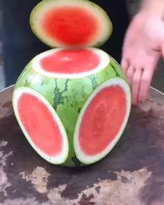 Food Crafts, Diy Food, Diy Crafts, Food Food, Paper Crafts, Food Design, Cup Design, Deco Fruit, Amazing Food Art