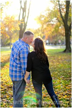 Fall Engagement Session by Sami Renee Photography // Cleveland Family, Wedding, & Portrait Photographer